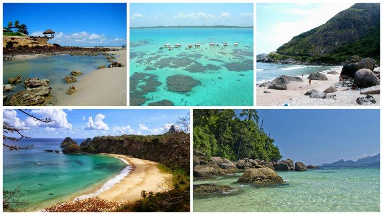 Top 5: Las mejores playas de Brasil