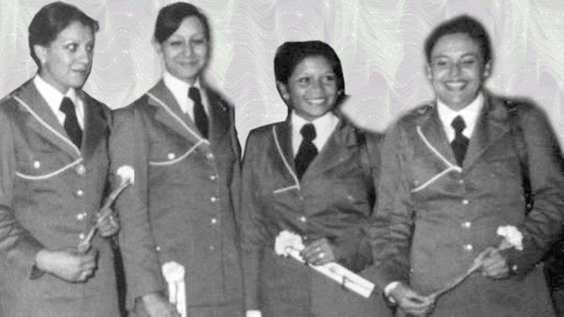 El egreso de la Brigada en 1978. Silvia