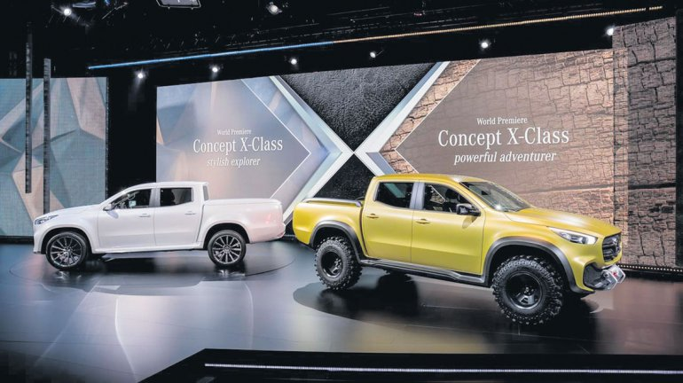 Clase X: así será la pick up argentina de Mercedes-Benz