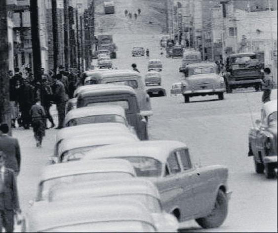 La calle San Martín en los años 50
