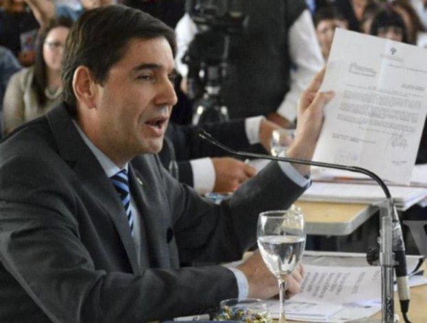 Pablo Calicate calificó de bochornosa la exposición del intendente en la sesión del viernes