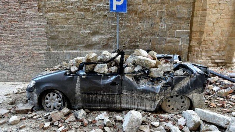 Otro terremoto sacudió el centro de Italia