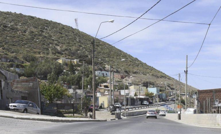 El lugar de inicio del Camino del Centenario donde se produjo la agresión.
