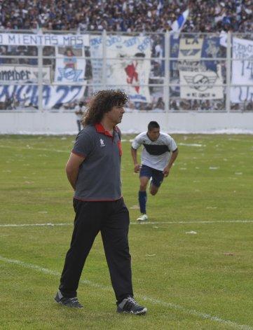 El Topo Márquez quedó conforme con la actuación de sus dirigidos.