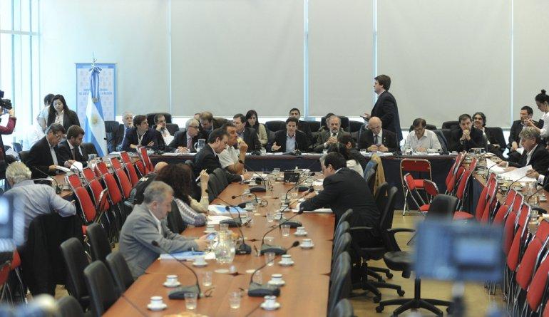 La comisión de Presupuesto y Hacienda de la Cámara de Diputados debatió el proyecto para 2017.