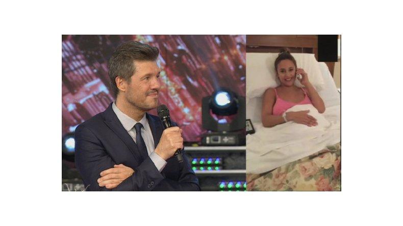 Nació el bebé de Lourdes Sánchez y el Chato Prada