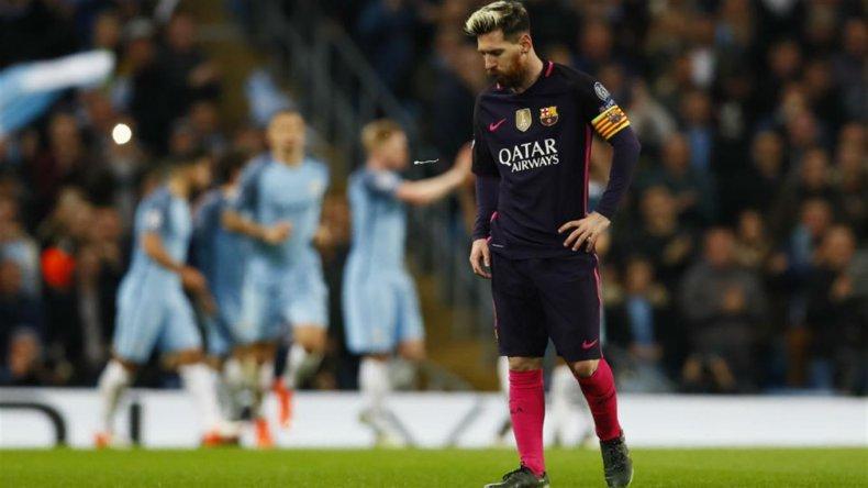 Esta vez Messi no pudo contra Guardiola y el City ganó