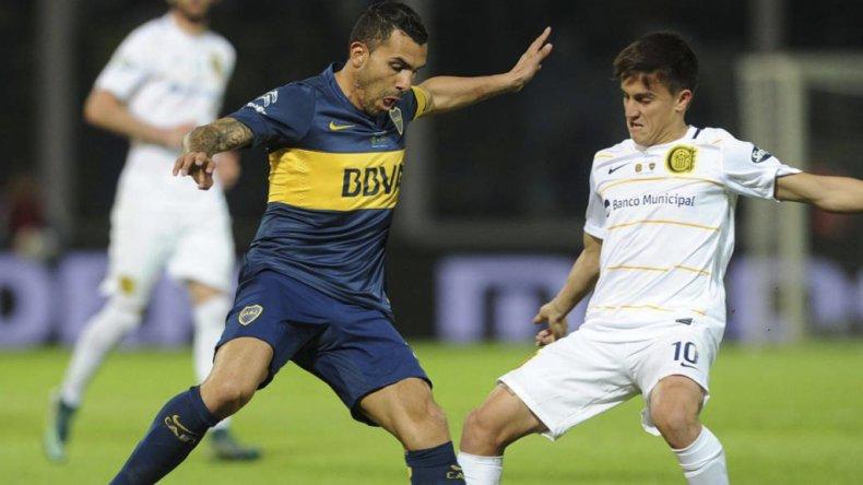 Carlos Tevez y Giovanni Lo Celson volverán a estar cara a cara esta noche por la Copa Argentina.