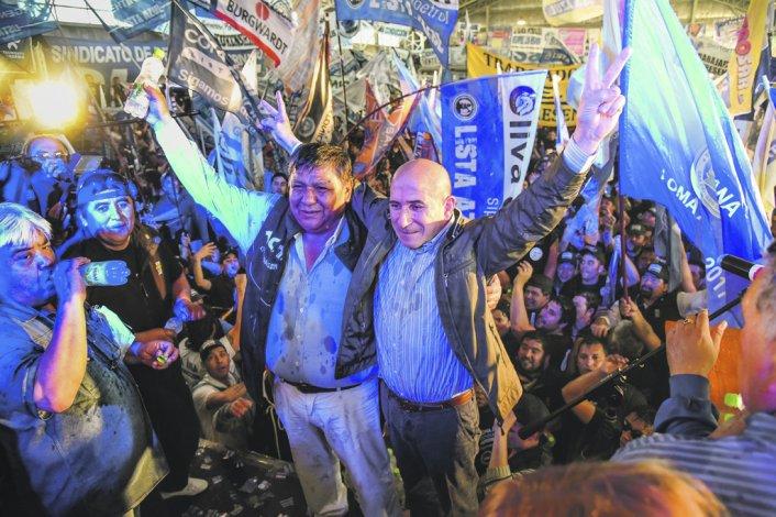 Jorge Avila también recibió el respaldo del recientemente reelecto secretario general de Petroleros Jerárquicos