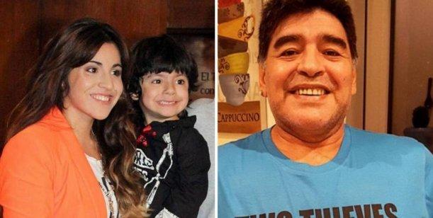 Gianinna no se quedó atrás y le respondió a Diego Maradona