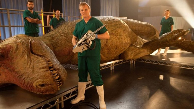 Llega a Trelew la réplica del dinosaurio más grande del mundo