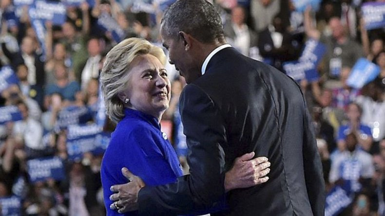 El presidente demócrata recorre Estados Unidos para apoyar a Clinton.