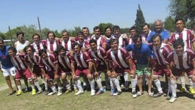 Los campeones nacionales de 2014 en la categoría Maxi +44