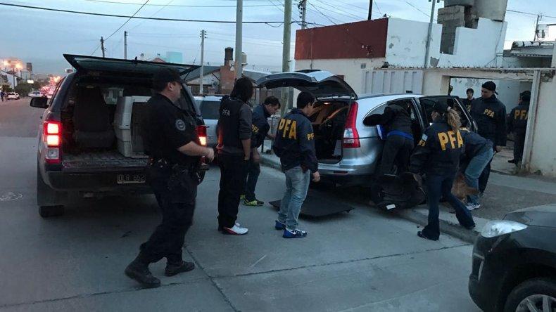 La Brigada de Drogas de la Policía Federal secuestró cocaína