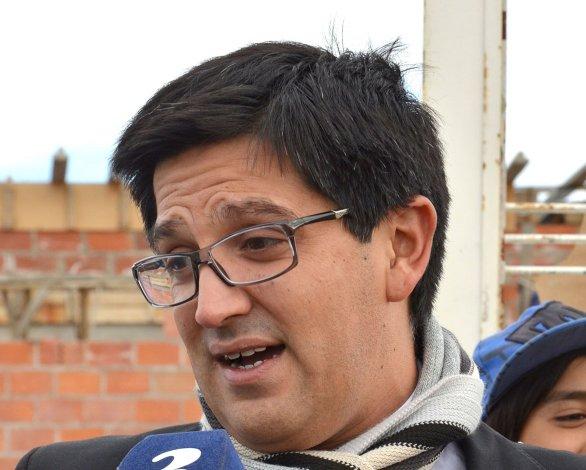 El fiscal Martín Cárcamo representa al Ministerio Público en el juicio.
