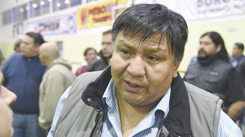 Jorge Avila busca la reelección al frente del Sindicato de Petroleros Privados Chubut.