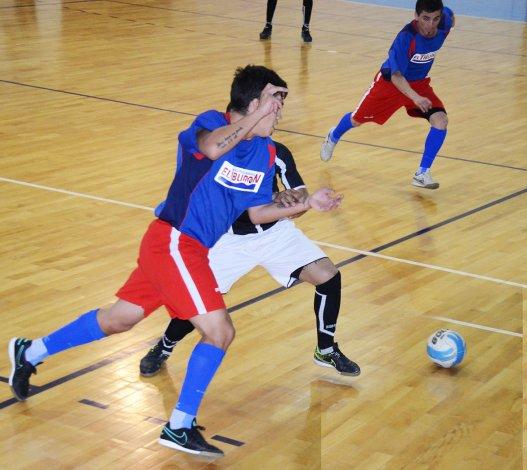El fútbol de salón oficial continuará este fin de semana con toda su programación.