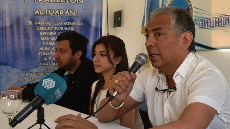Jorge Soloaga brindó detalles de lo que será el viernes 11 y sábado 12 de noviembre la 5ª edición del festival popular Cañadón