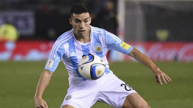 Nicolás Gaitán se suma a otra de las bajas en la selección argentina.