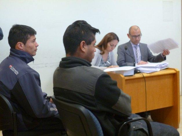 Se homologó un juicio abreviado por robo agravado contra Jonathan Liempis y Daniel Recarey