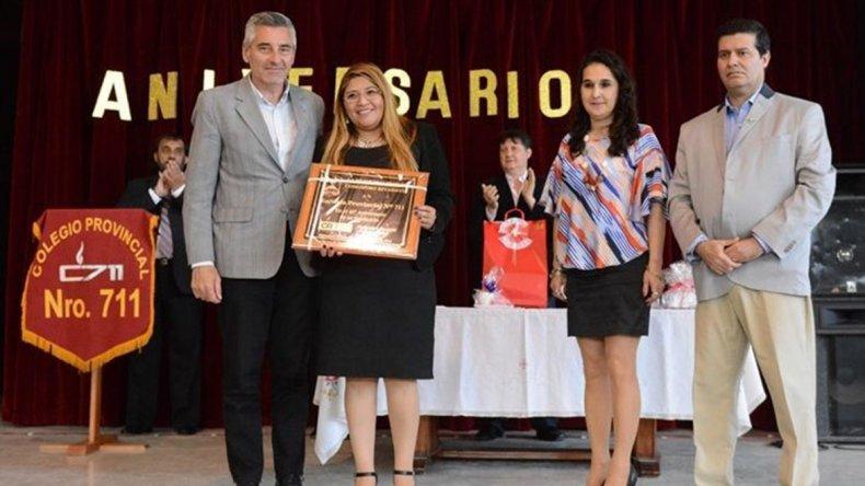 La Escuela 711 festejó su 40º aniversario