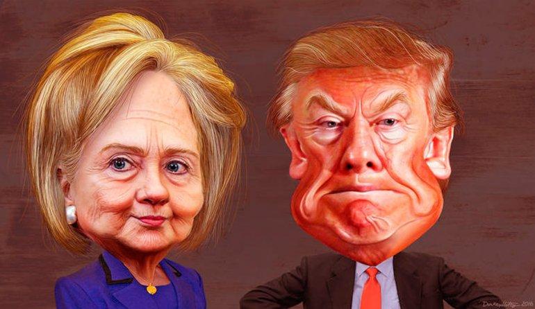 Los estadounidenses votarán el martes entre Hillary Clinton y Donald Trump a su próximo presidente.