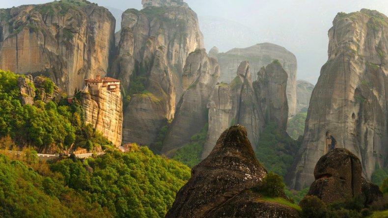 Grecia: esos curiosos monasterios de Meteora