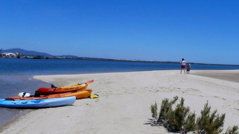 Actividades de aventura como kayak