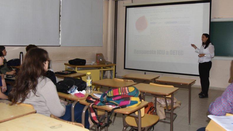 En distintas aulas de la Ciudad Universitaria se desarrollaron mesas de trabajo y talleres.