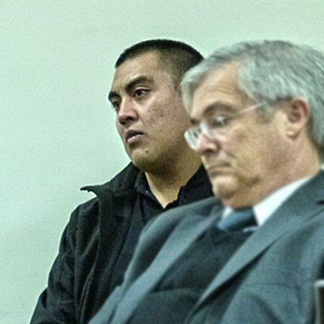 Gabriel El Ojón Barrionuevo en agosto del año pasado cuando había tenido que enfrentar por última vez a la Justicia.