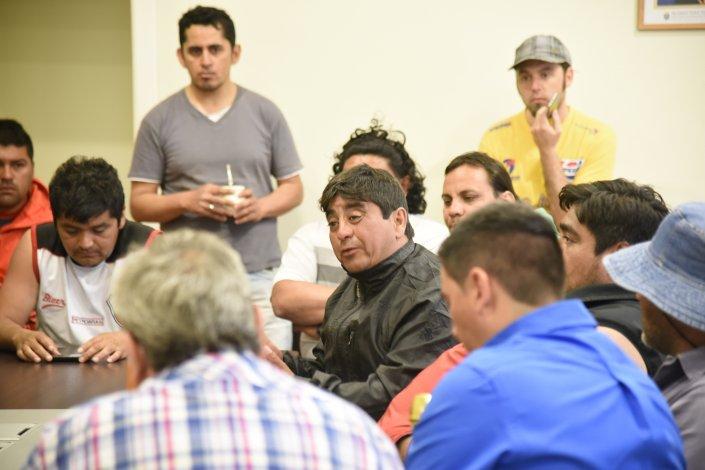 Ojeda aseguró que si hoy no reciben una respuesta favorable volverán a la calle