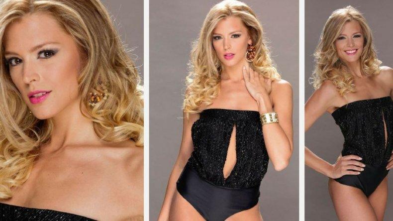 Pamela Roberts fue finalista de Miss Universo Argentina