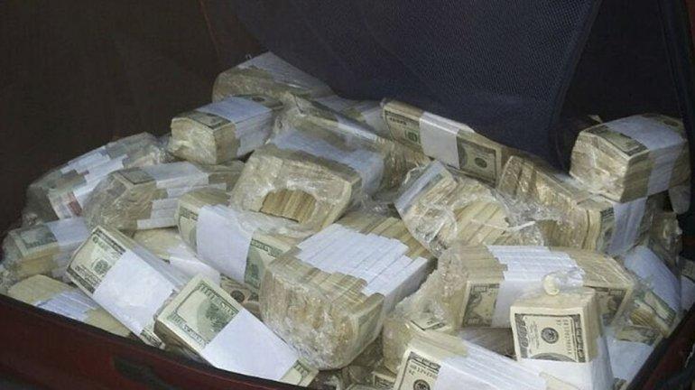 El dinero que le fue secuestrado a José López.