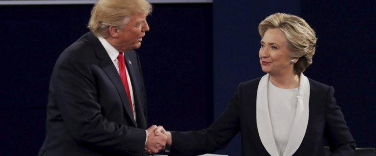 Donald Trump y Hillary Clinton buscan convertirse en el sucesor de Barack Obama.