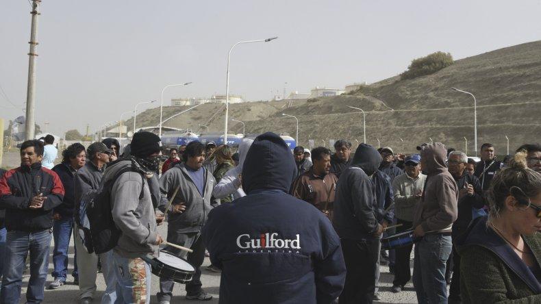 El jueves los operarios de Guilford habían tomado la planta de combustible.