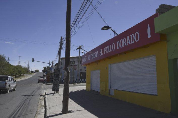 El semáforo de Araucarias y Rivadavia