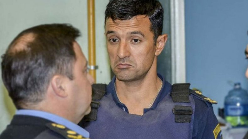 Gómez fue desplazado como jefe policial por pedido de Das Neves