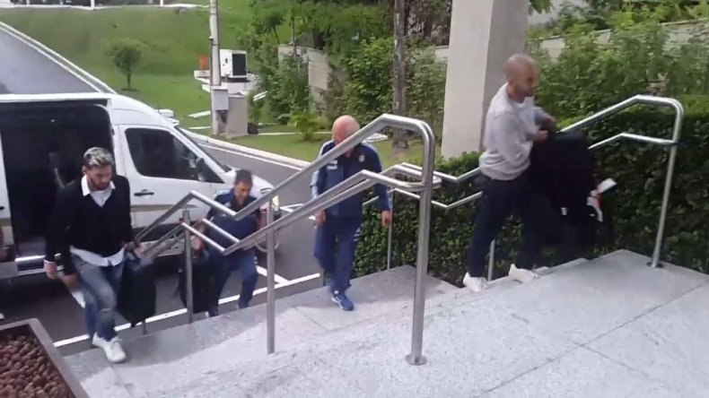 Messi y Mascherano ya están en Brasil