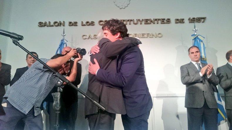 Gilardino asumió como nuevo ministro Coordinador