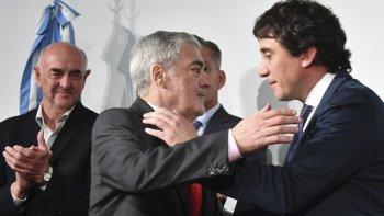 El gobernador Mario Das Neves puso en funciones a Alberto Gilardino como nuevo ministro Coordinador de Gabinete.