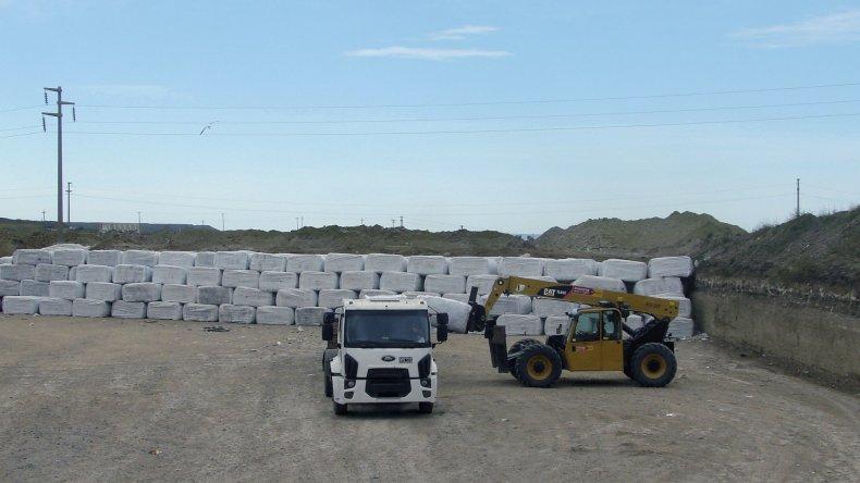 La Planta de Tratamiento de Residuos Sólidos Urbanos permite reducir hasta 60% del volumen de desechos que se generan en Comodoro Rivadavia y Rada Tilly.