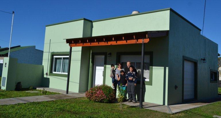 Ya se inscribieron 229 familias de Chubut en Procrear Casa Propia