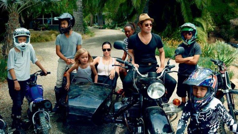 Angelina Jolie le ganó la pulseada legal a Brad Pitt