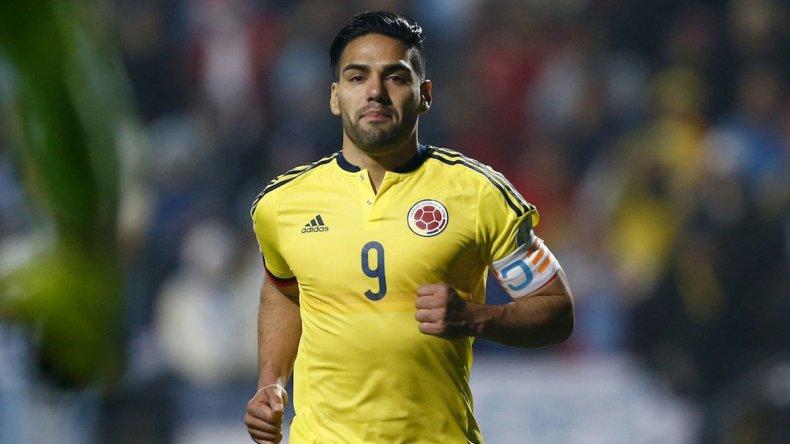 Radamel Falcao reaparecerá esta tarde en la selección colombiana que dirige el argentino José Pekerman.