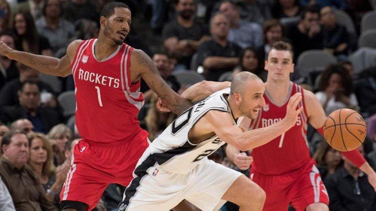 Manu Ginóbili llegó a los 13 mil puntos en la NBA