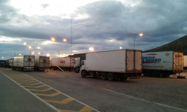 Controlaron a más de 130 camiones con productos alimenticios