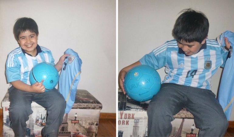 Apareció la pelota de Alexander