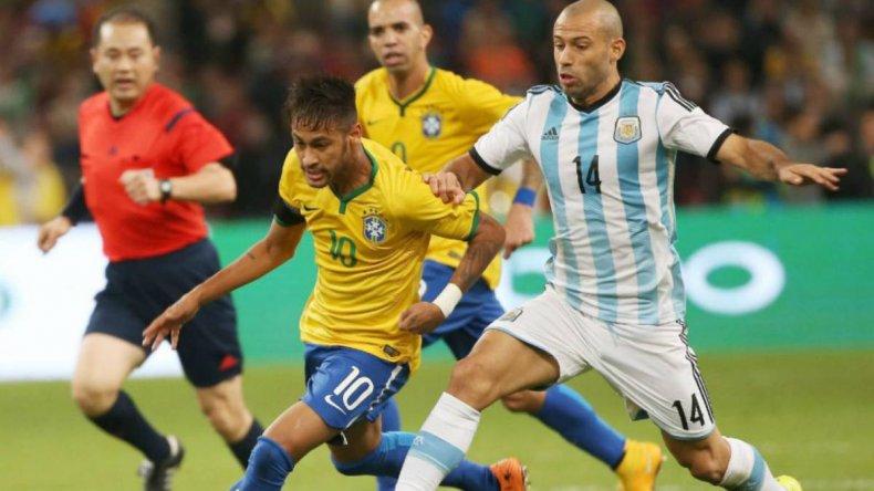 Seguí el minuto a minuto de Brasil y Argentina