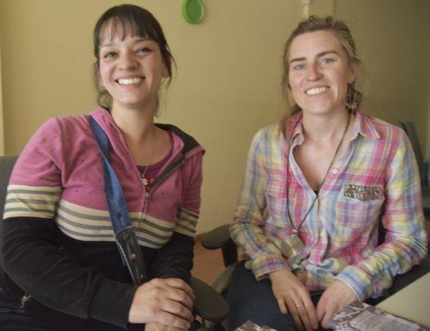 Natalia Pérez y Camila Aita