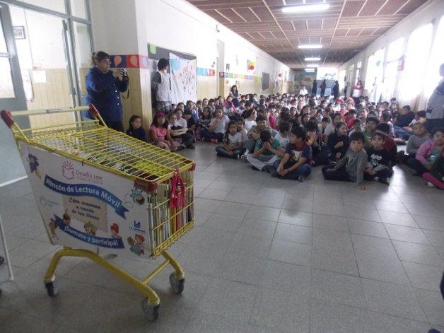 La experiencia en la Escuela 111 del barrio Presidente Ortiz.